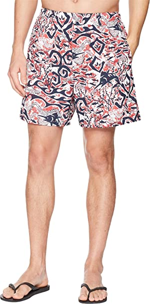 5a9e69c956 Columbia Men's Backcast II Printed Shorts, White Deep Sea Batik Print, ...