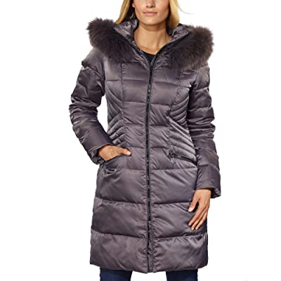 1 Madison Ladies' Hooded Down Walker Jacket