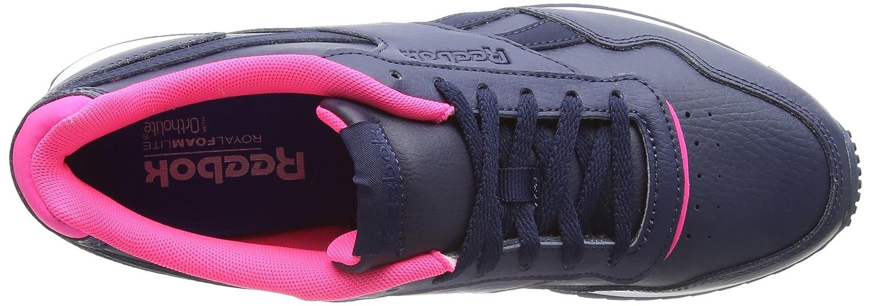 Reebok Cm9702, Chaussures de Gymnastique Femme, Bleu (CP/Collegiate Navyacid Pinkwhite), 35.5 EU