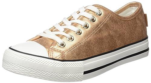 Springfield 3.Gym Sneaker Punta Goma metalizad, Zapatillas para Mujer, Rosa (Pink), 39 EU: Amazon.es: Zapatos y complementos