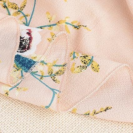 Moda Falda Larga Estampada Flor Maxi Boho Verano para Mujer Vestido Pareo  Playa Bikini Cover Up Ropa de Playa Fiesta Caual Vacación  Amazon.es  Ropa  y ... 796b0d92d4ba