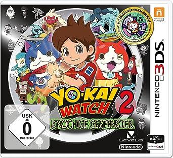 Yo Kai Watch 2 Esprits Farceurs Médaille Nintendo 3ds Amazonfr