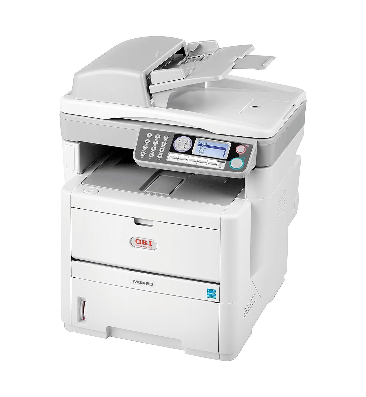 OKI MB480 - Impresora multifunción (LED, Mono, Mono, 28 ppm, 1200 ...