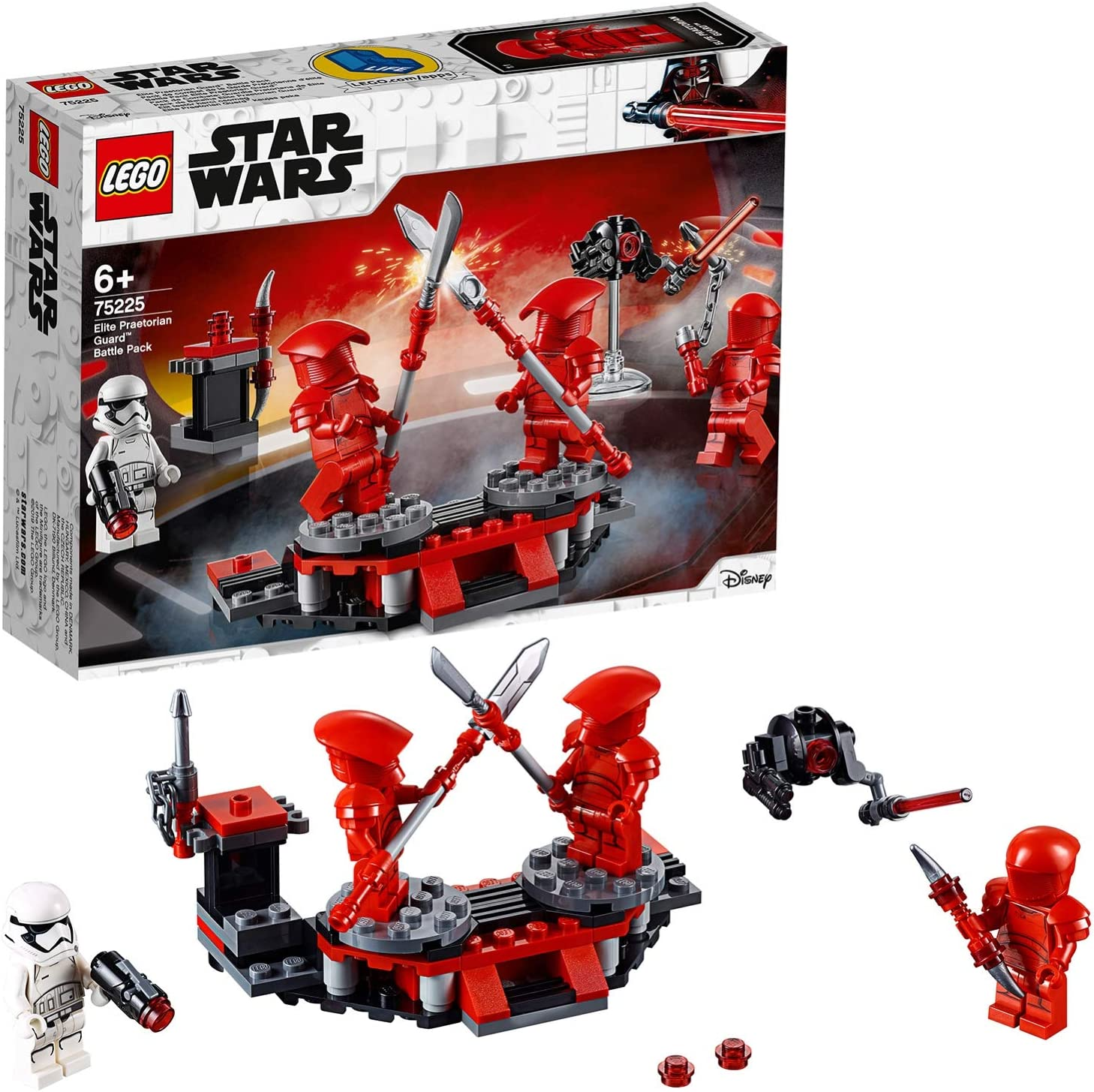 Lego ® Star Wars set 75225 elite Praetorian Guard nuevo 75226 Inferno Squad