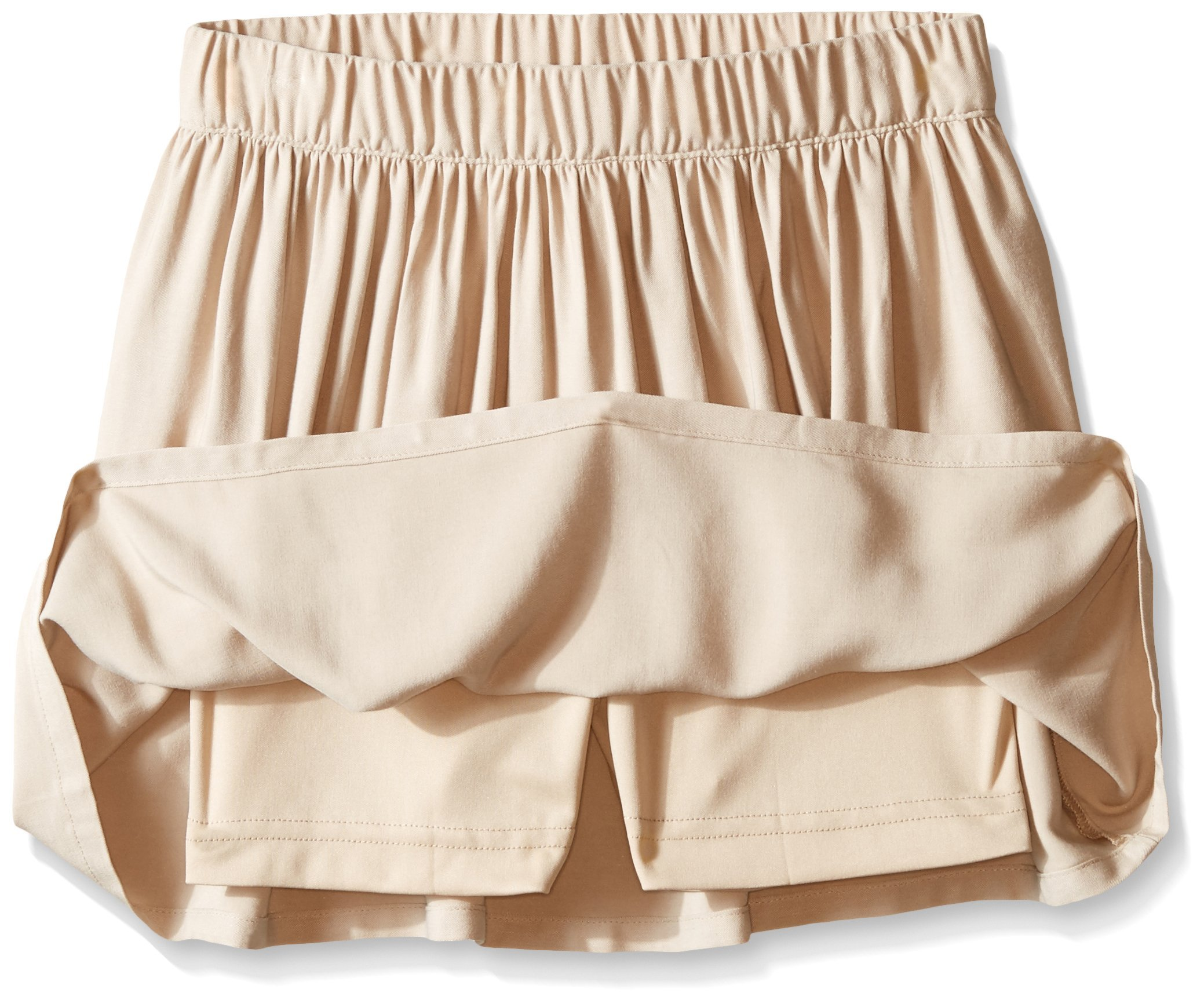 Nautica Big Girls' Uniform Soft Touch Pull-On Scooter, Khaki, 10 by Nautica (Image #2)