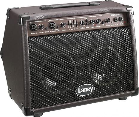 Guitarra acústica Amplificador Laney LA35C Marrón: Amazon.es ...