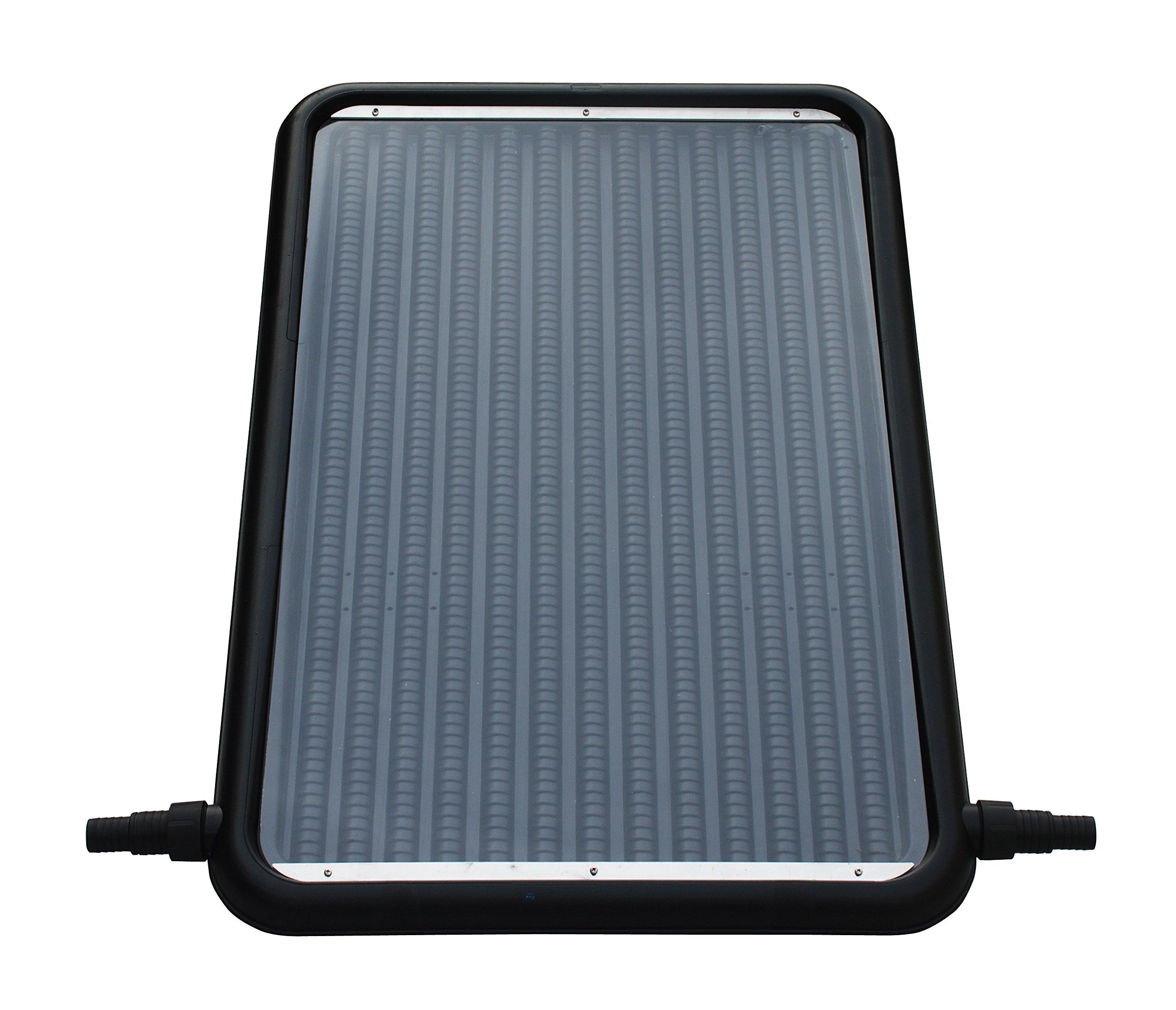 FlowXtreme NS1002 Flat-Panel Pool Solar Heater, Black by FlowXtreme