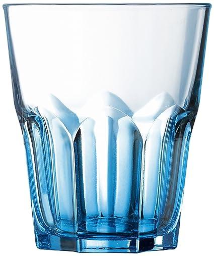 Luminarc 9208300 - Juego de 6 vasos bajos (cristal, 30 cl), color