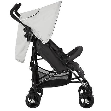 Amazon Com Dream On Me Jasper Lightweight Stroller Grey Baby