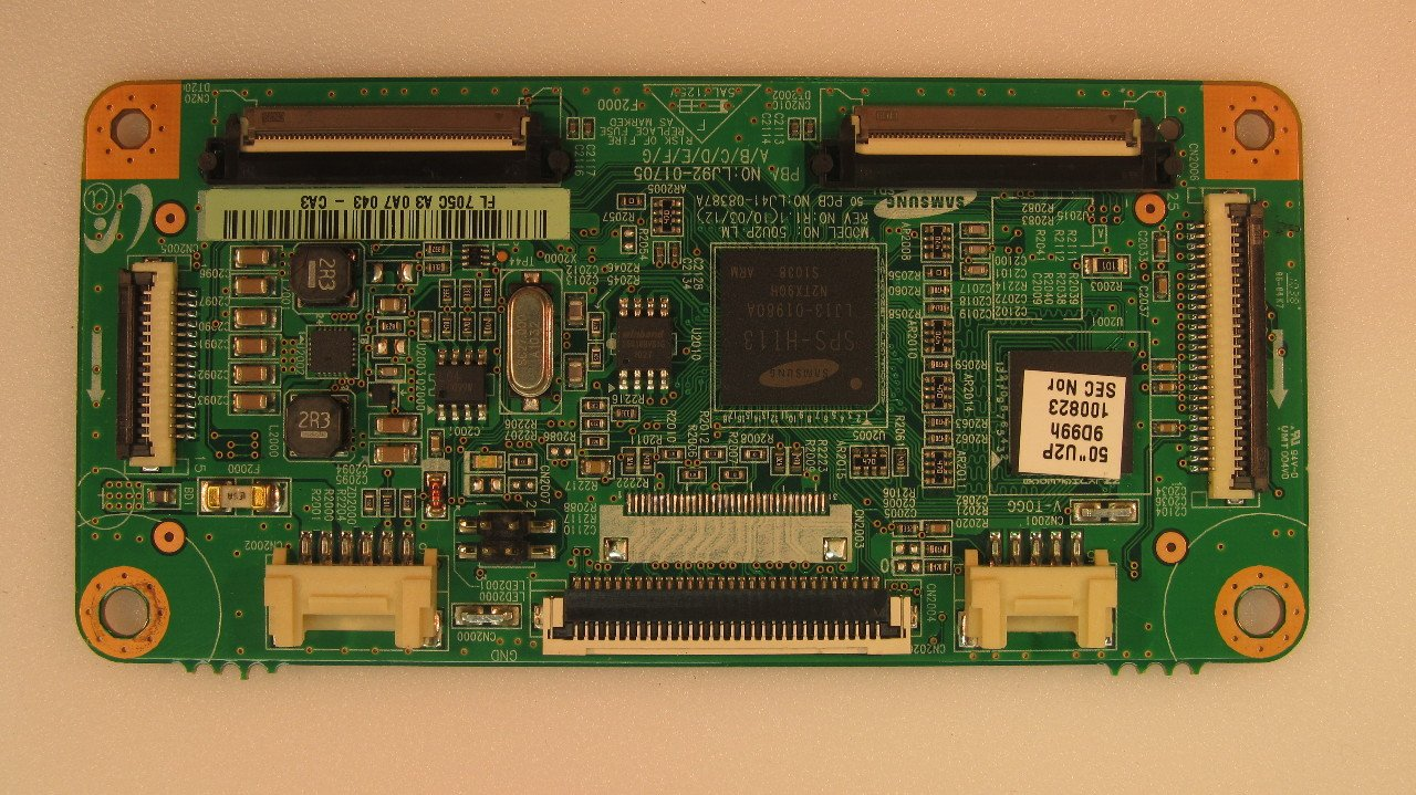 Samsung 50 NS-50P650A11 LJ92-01705C Plasma Main Logic Control Board Unit