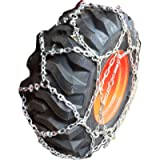 TireChain.com 10-16.5 Reinforced European Style Net Tire Chains, Priced per Pair (Set of 2)