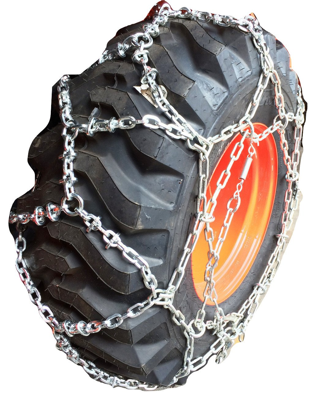 TireChain.com 15-19.5 Reinforced European Style Net Tire Chains, Priced per Pair (Set of 2)
