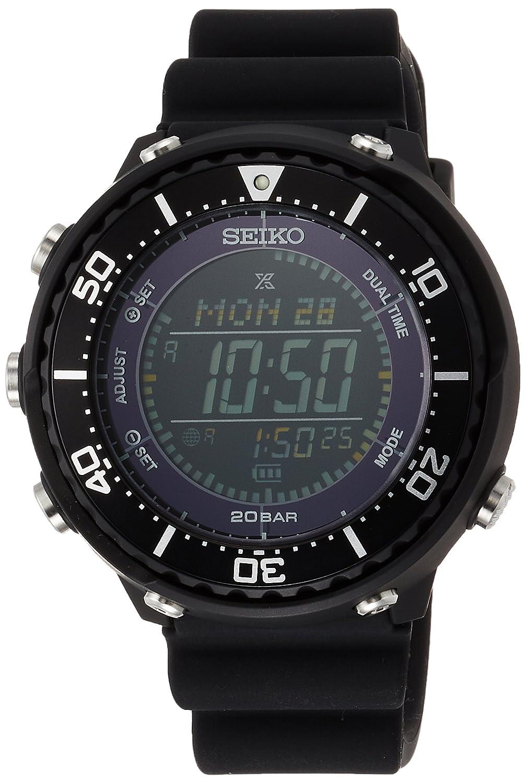 [プロスペックス]PROSPEX 腕時計 PROSPEX LOWERCASEプロデュース フィールドマスター ソーラー デジタル SBEP001 メンズ B07BXWSW27