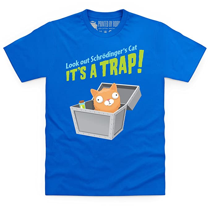 Schrodinger s Cat - It s A Trap! Camiseta 18ef61e298f