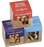 Thumbs Cookies Assorted Flavors in 3 Boxes of Fresh Baked Cookies - 1 lb. Gift Box