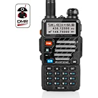 Radioddity/Baofeng RD-5R DMR. Radio bidirectionnelle Double Bande Dual Time Slot Walkie Talkie, 1024 canaux Tiers I & II Compatible MOTOTRBO. Cable de programation Offert.