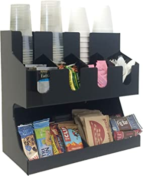 Mind Reader Coffee Condiment and Accessories Caddy Organizer