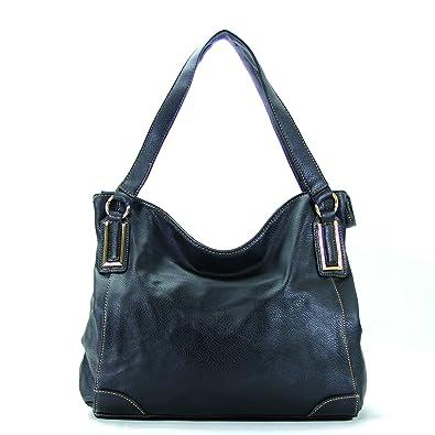 Amazon.com  Pop Fashion Womens Trendy Slack Purse Handbag Tote Bag (Black)   Shoes 37c0fbc1b