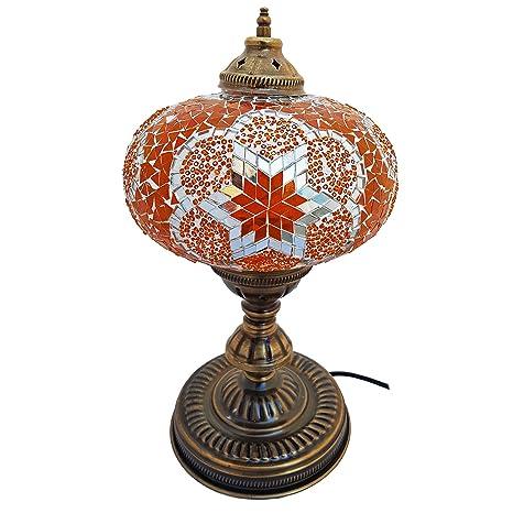 Mosaic lámpara de mesa, 23.65 pulgadas Altura, forma ...