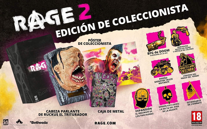 Rage 2 Collectors Edition: Amazon.es: Videojuegos