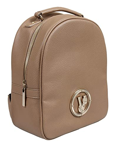 44ba1560b702 Image Unavailable. Image not available for. Color  Versace EE1VSBBV3 E148 Taupe  Backpack for Womens