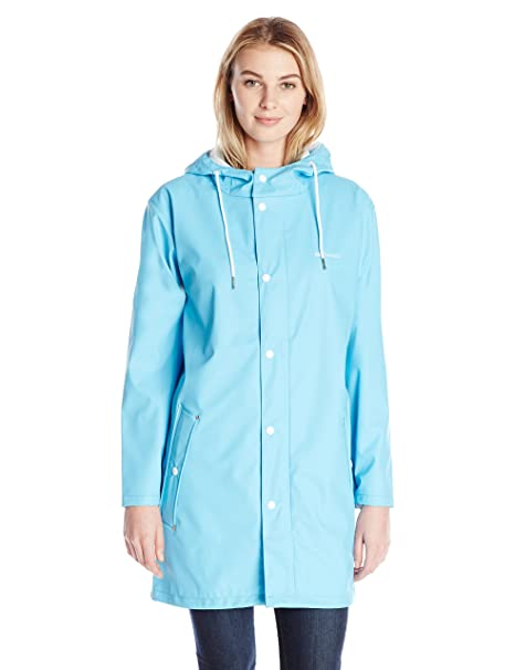 3f1a031d Tretorn Women's Wings Rain Jacket, Blue, L: Amazon.ca: Clothing ...