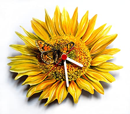 Sunflower Clock   F11