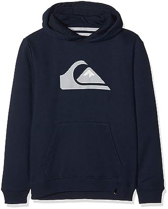 newest 9fb70 e0c99 Quiksilver Unisex Kids Eqbft03468 Big Logo Fleece Top  Amazon.co.uk   Clothing