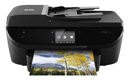 HP ENVY 7640 e-AiO - Impresora multifunción (Inyección de tinta, Color, Color, 14 ppm, 4800 x 1200 DPI, 9 ppm) Negro