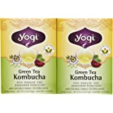 Yogi Tea Green Tea Kombucha, Herbal Supplement, Tea Bags, 16 ct, 2 pk