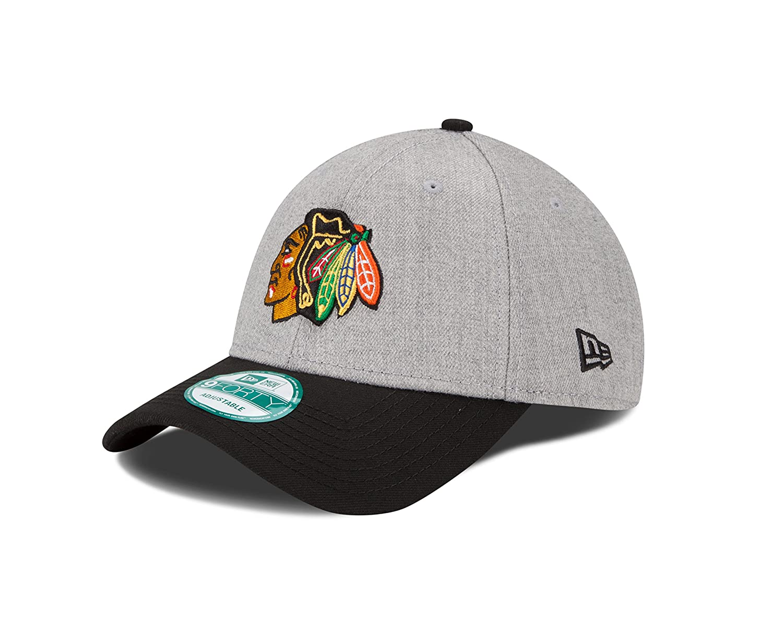 New Era NHL Chicago Blackhawks The League Heather 9forty Adjustable ... fac3ca276b6a