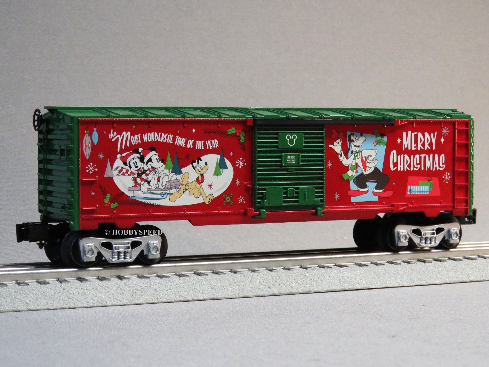 LIONEL DISNEY CHRISTMAS MICKEY'S HOLIDAY TO REMEMBER BOX CAR