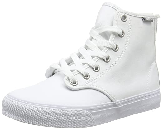 Camionnettes - Camden Zip Salut, Chaussures De Sport Mujer, Blanco (noir), 34,5 Ue