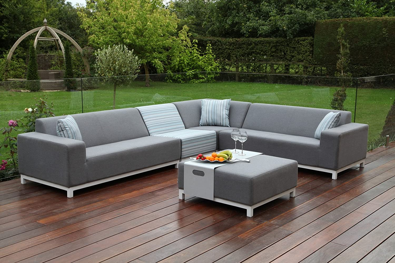 Granada tela al aire libre muebles de jardín Sunbrella gran ...