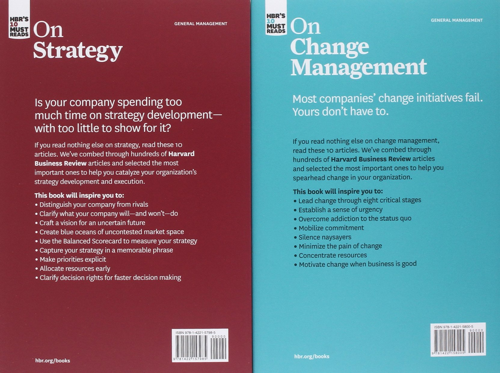 HBR's 10 Must Reads Boxed Set (6 Books) (HBR's 10 Must Reads) by Harvard Business Review Press