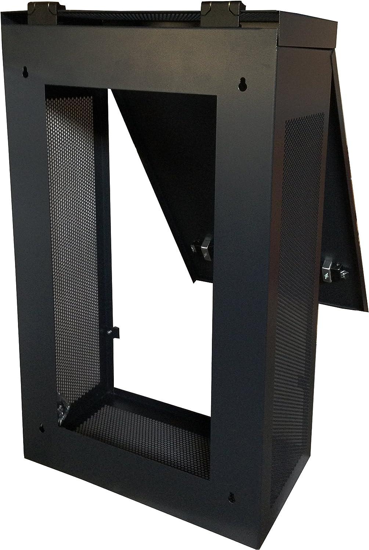 Sysracks 6U 35 Inch Deep Server Rack Cabinet Vertical Server Blade Rack Unique Compact Solution Fits Server Equipment