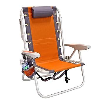 Amazon.com: Silla plegable con mochila nevera de Rio Gear ...