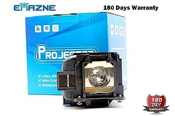 Emazne ELPLP88/V13H010L88 - Lámpara de Repuesto para proyector ...
