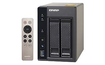 QNAP TS-253A-4G 4TB (2 x 2TB WD RED) 2 Bay NAS Unit with 4GB RAM