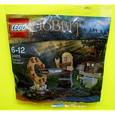 LEGO The Hobbit Legolas Greenleaf Mini Set #30215 [Bagged]: Toys & Games