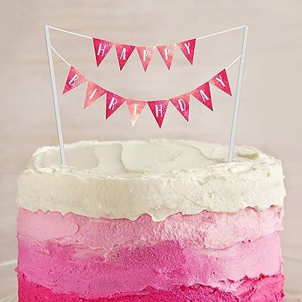 Surprising Amazon Com Birthday Cake Banner Printable Digital Download Funny Birthday Cards Online Barepcheapnameinfo