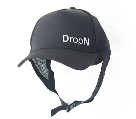 Amazon.com   DropN Surf Hat with Chin Strap   Sports   Outdoors 64f1acda11d9