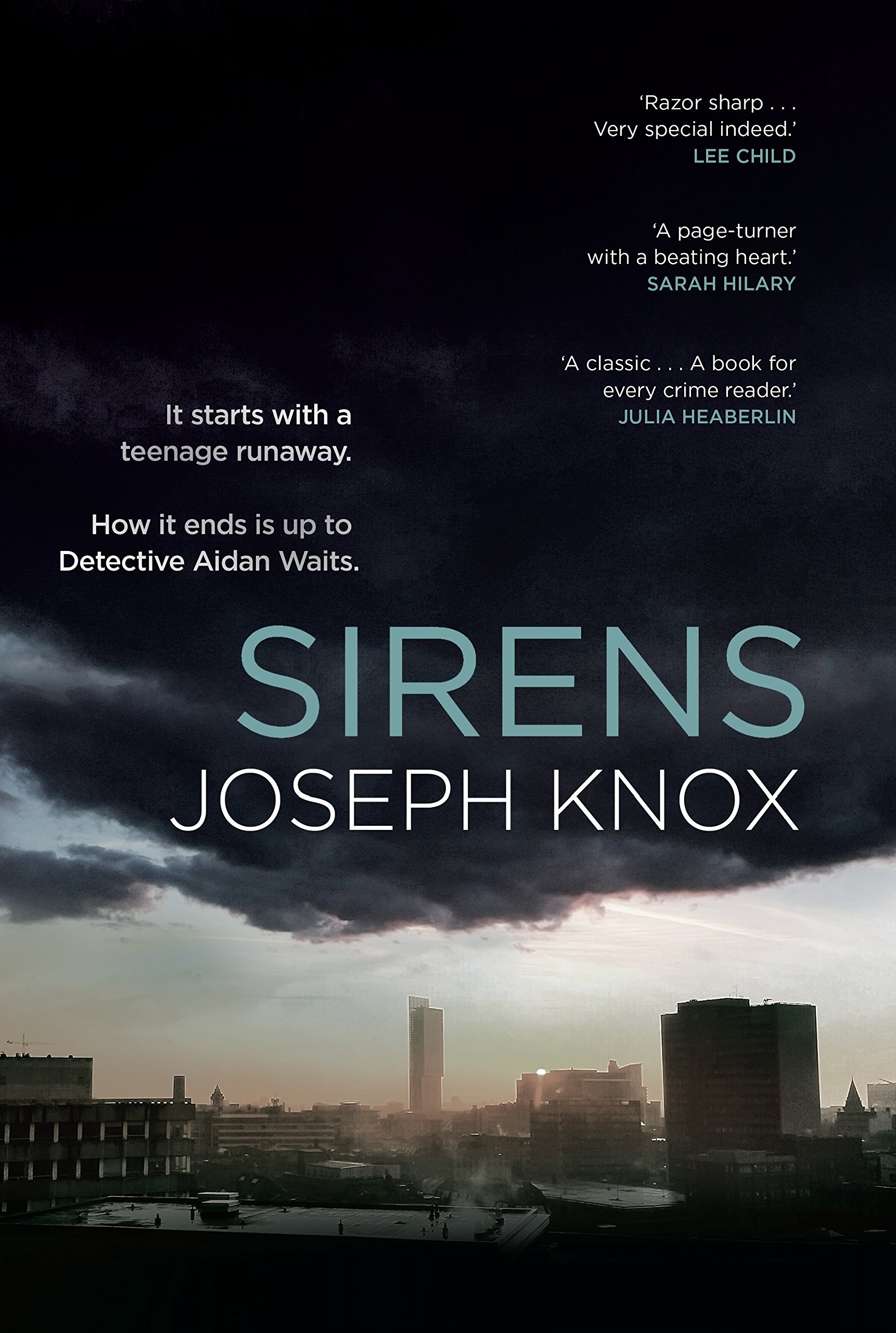 Image result for sirens by joseph knox