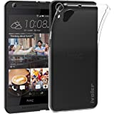 HTC Desire 626 / 626G Custodia, iVoler® Soft TPU Silicone Case Cover Bumper Caso,[Cristallo Chiaro] [Estremamente Sottile] [Semi Transparente] [Shock-Absorption e Anti-Scratch] Slim Anti Slip Case Protector Cover per HTC Desire 626 / 626G (Crystal Clear)- 18 Mesi di Garanzia
