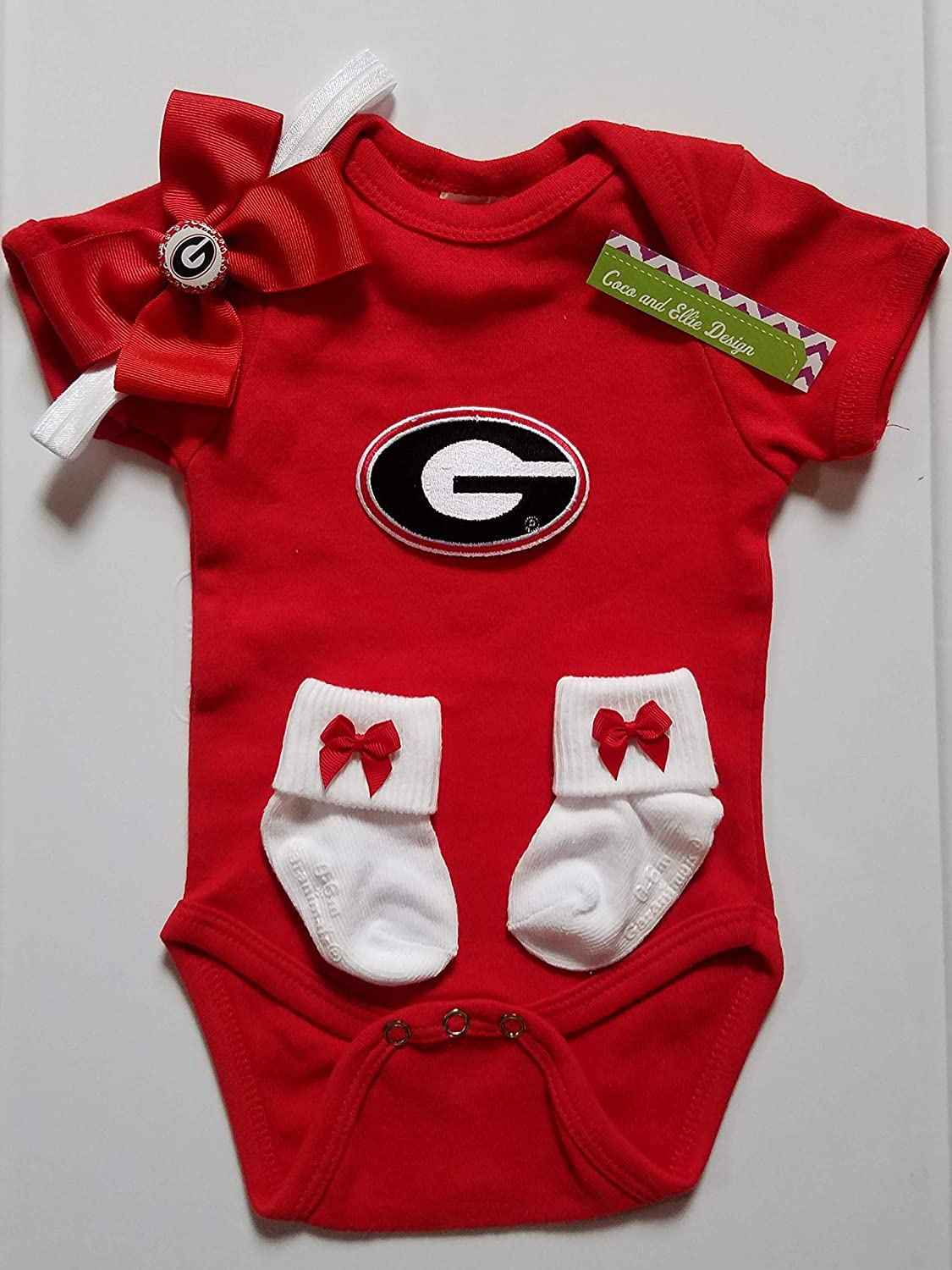 quality design 09f6f 3f26d Amazon.com: Georgia Bulldogs baby clothes/Georgia baby ...