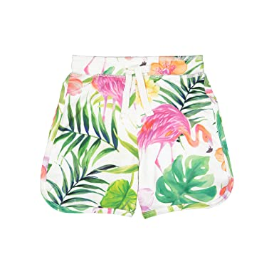 220565be6e12e Amazon.com: Masala Baby Baby Boys Swim Shorts Flamingo Island Multi:  Clothing