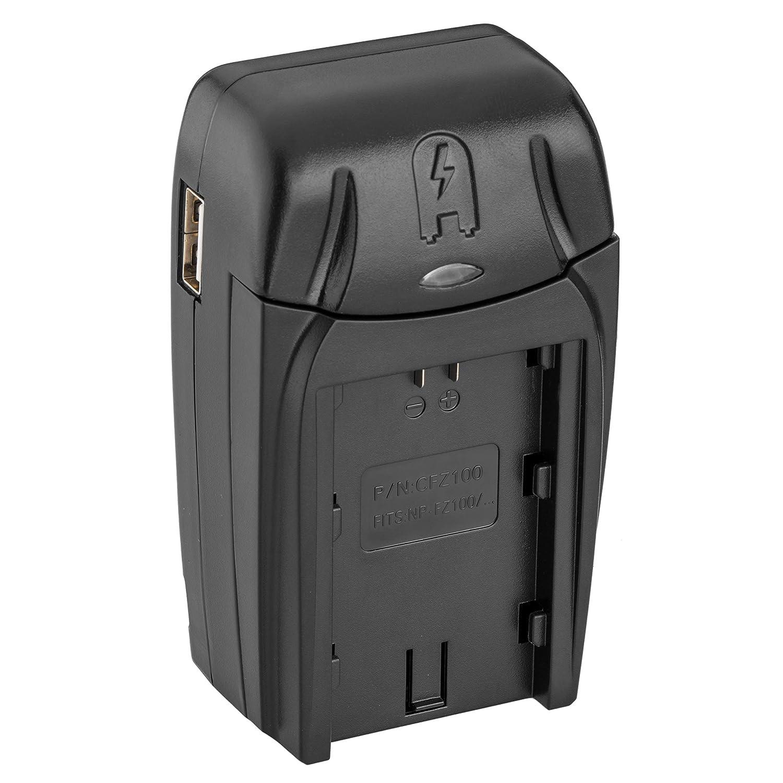Amazon.com : Watson Compact AC/DC Charger for NP-FZ100 ...