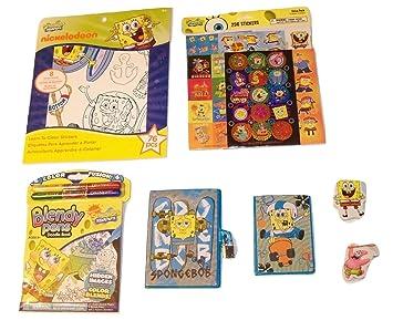 Amazon.com: Set de regalo de actividades con diseño de Bob ...