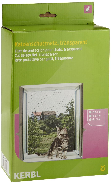 Kerbl Red de protección para gatos 2 x 3 m, transparente: Amazon.es: Productos para mascotas