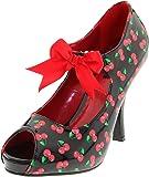 Pinup Couture  CUTIEPIE-07, Escarpins pour femme Noir/rouge